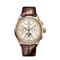 Breitling Pluton Red gold 42mm Champagne