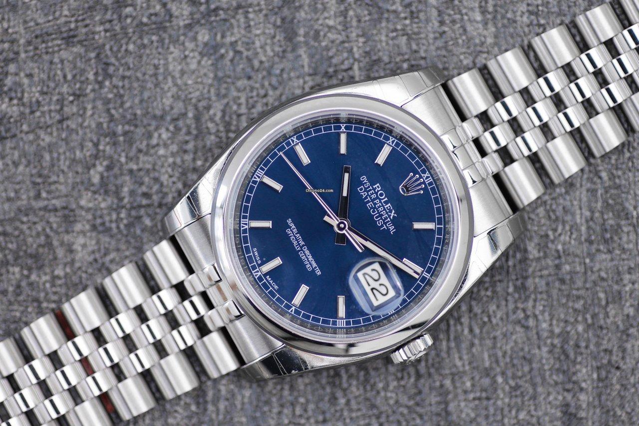 Rolex Datejust 116200 2019 nieuw