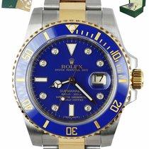 Rolex Submariner Date 116613 Sehr gut Gold/Stahl 40mm Automatik