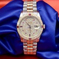 Rolex Day-Date Bom Ouro branco Automático