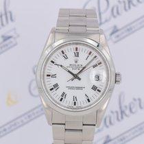 Rolex Oyster Perpetual Date Acier 34mm Blanc Sans chiffres France, Cannes - St Tropez