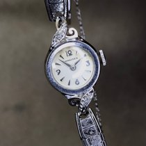 Longines White gold Manual winding White pre-owned