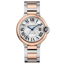 Cartier Ballon Bleu 36mm new 2021 Automatic Watch with original box and original papers W2BB0003