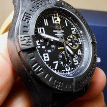 Breitling Avenger Hurricane pre-owned 45mm Black Chronograph Date Rubber