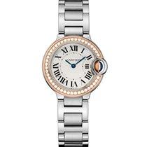 Cartier Ballon Bleu 28mm new 2021 Quartz Watch with original box and original papers we902079