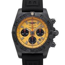 Breitling Chronomat 44 Blacksteel Сталь 44mm Желтый