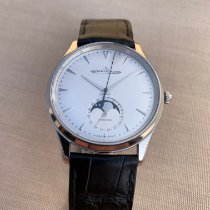 Jaeger-LeCoultre Master Ultra Thin Moon Steel 39mm Silver No numerals United States of America, Texas, Midland