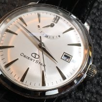 Orient Star Steel 38.5mm White No numerals United States of America, New Jersey, Morris Plains