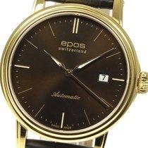 에포스 중고시계 자동 41mm 갈색