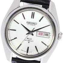 Seiko King 37mm Silver