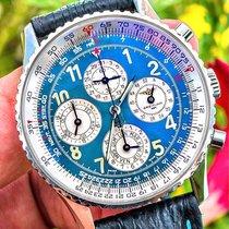 Breitling Navitimer 1461 Staal 41mm Blauw Arabisch