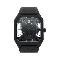 Bell & Ross Ceramic Manual winding No numerals 45mm pre-owned BR 01
