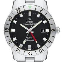 Zodiac Sea Wolf Steel 40mm Black No numerals United States of America, New Jersey, River Edge