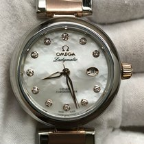 Omega De Ville Ladymatic Gold/Steel 34mm Mother of pearl United States of America, New York, New York