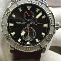 Ulysse Nardin Maxi Marine Diver Steel 42mm Bordeaux United States of America, New York, New York