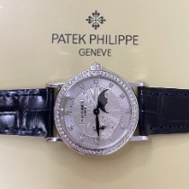 Patek Philippe Calatrava White gold 29mm Silver