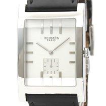 Hermès Tandem Steel 31mm Silver