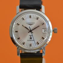 Longines Ultronic Steel 35mm White No numerals
