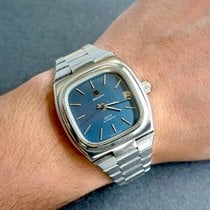 Zenith Silver Automatic Blue 37mm pre-owned Defy