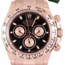 Rolex Daytona Rose gold 40mm Black United States of America, New York, Smithtown