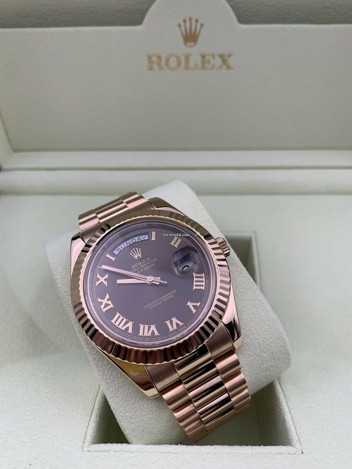 Rolex Day-Date II 218235 2013 pre-owned
