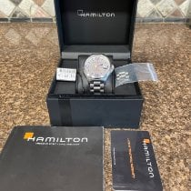 Hamilton pre-owned Automatic 42mm Silver Sapphire crystal 5 ATM