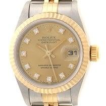 Rolex 69173G Or/Acier 1993 Lady-Datejust 26mm occasion