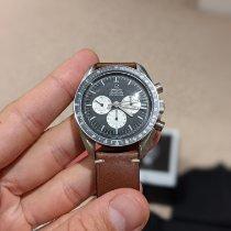 Omega Speedmaster Professional Moonwatch Ocel Černá Bez čísel