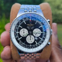 Breitling Navitimer Heritage pre-owned Black Chronograph Date Steel