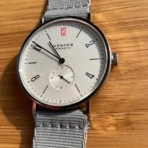 NOMOS Tangente 38 pre-owned 38mm White Textile