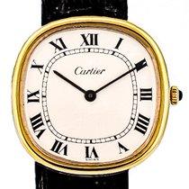 Cartier Oro amarillo 32.5mm Cuerda manual Oreiller 7040 usados