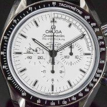 Omega Speedmaster Professional Moonwatch Çelik 42mm Beyaz Rakamsız
