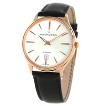 Hamilton Red gold Automatic Silver 46mm new Jazzmaster Thinline