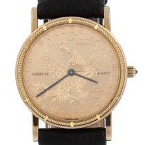 Corum Sárgaarany 28mm Kvarc Gold American Eagle Coin Watch használt