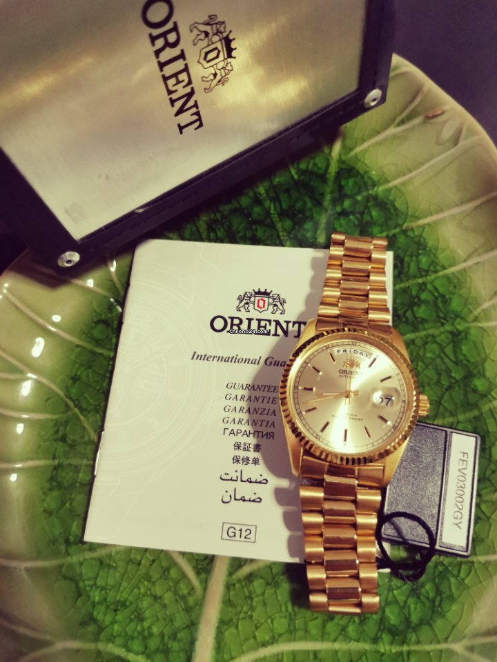 Orient FEV03002GY new
