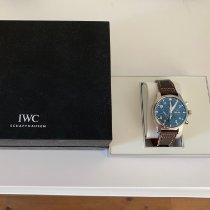IWC Fliegeruhr Chronograph Stahl 43mm Blau Arabisch Schweiz, Thalwil