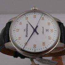 Meistersinger Scrypto Steel 43mm White Arabic numerals