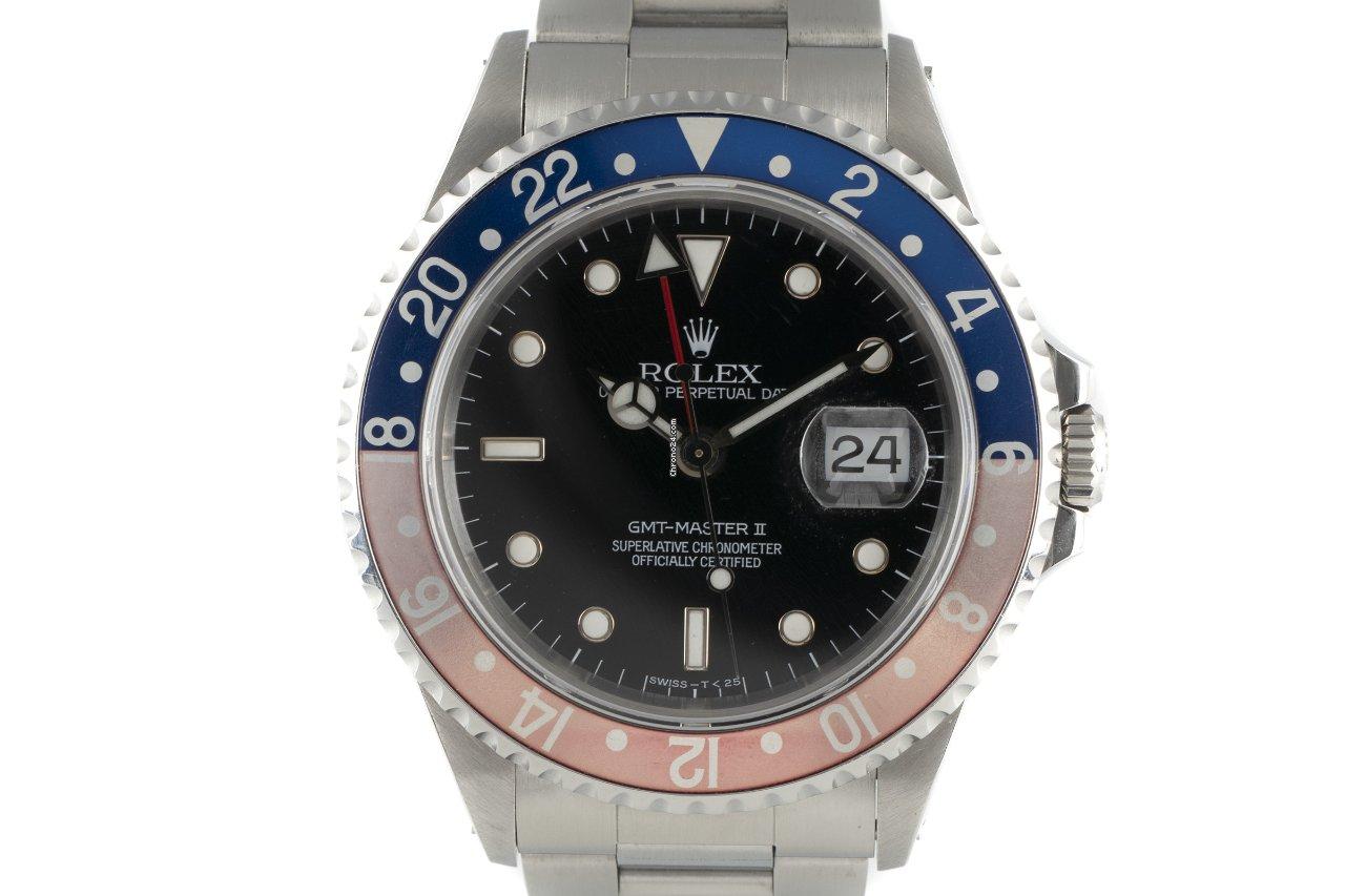 Rolex (ロレックス) GMT マスター II 16710 1994 中古