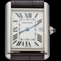 Cartier Tank Louis Cartier White gold 25mm White Roman numerals