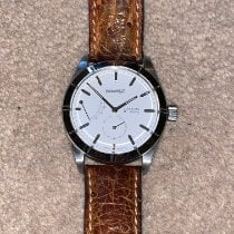 Eberhard & Co. 8 Jours Steel 40mm White No numerals