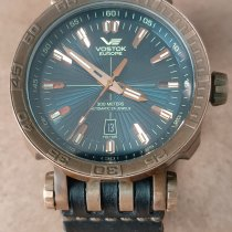 Vostok Bronze Automatic Blue No numerals 48mm pre-owned