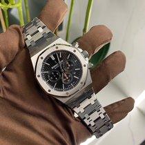 Audemars Piguet Royal Oak Chronograph Steel 41mm Black No numerals