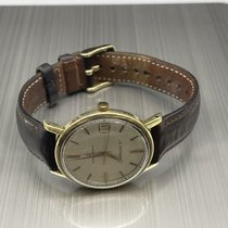 Eterna Matic Yellow gold 35mm Champagne No numerals