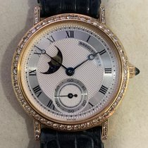 Breguet Yellow gold 31mm Manual winding Breguet Classique Moonphase pre-owned Singapore