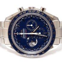 Omega Speedmaster Professional Moonwatch Steel 42mm Blue No numerals United Kingdom, London