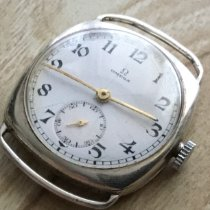 Omega Silver Manual winding White Arabic numerals 30mm pre-owned