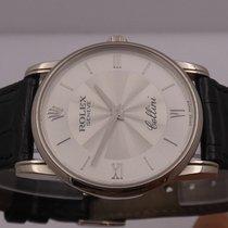Rolex 5116 Белое золото 2002 Cellini 32mm подержанные
