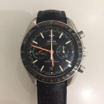 Omega Speedmaster Racing occasion 44.2mm Noir Chronographe Date Tachymètre Cuir