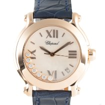 Chopard Happy Sport Red gold 36mm Mother of pearl