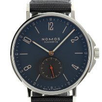 NOMOS pre-owned Automatic 40mm Blue Sapphire crystal